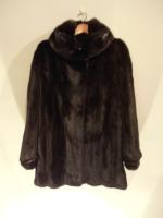 Scanblack mink jacket - Approx size: M/S - Price: £3,300 (Ref C334)
