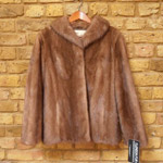 Mid brown mink jacket