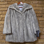 Silver/grey mink jacket