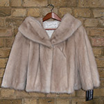 Blond mink jacket