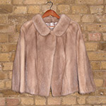 Dark blond mink jacket