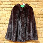 Pre-owned mink cape
