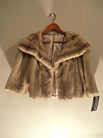 Sapphire grey mink jacket (new lining)