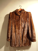 Saga second hand mink jacket