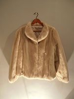 Saga blond grey mink jacket