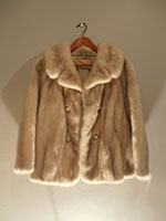 Light grey mink jacket