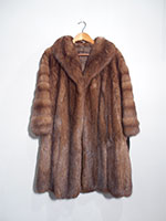 Russian sable coat (111cm)