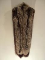 Extra long silver fox wrap - Length: 206cm - Price: £590 (Ref V452)