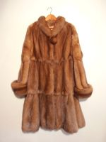 Russian golden sable reversible coat