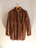 Caramel semi swing mink jacket