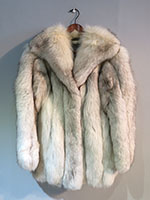 Arctic fox jacket